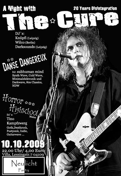 The Cure Party in Leipzig