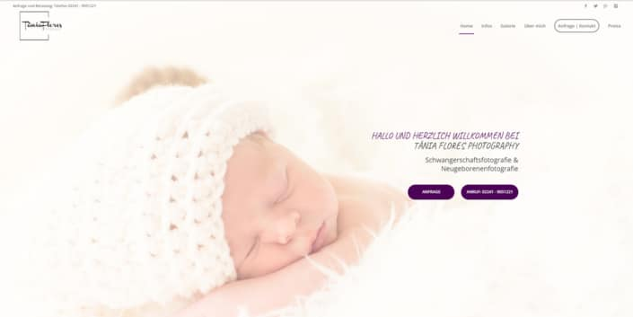 ceho-photography-webdesign-tania-flores-photography-landingpage